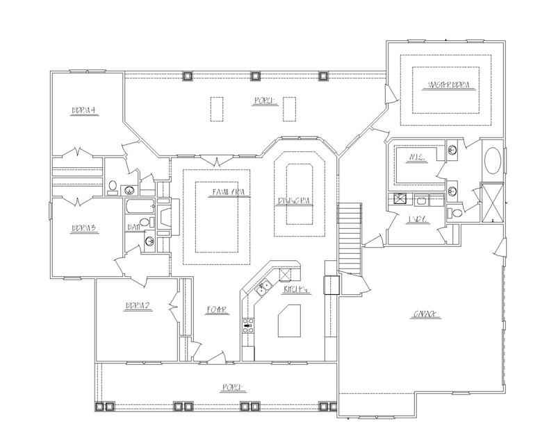 House plans custom homes prescott sons construction for 5 bedroom house plans with bonus room